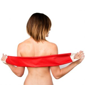 Scarlet Red Body Buddy® Back & Body Lotion Applicator